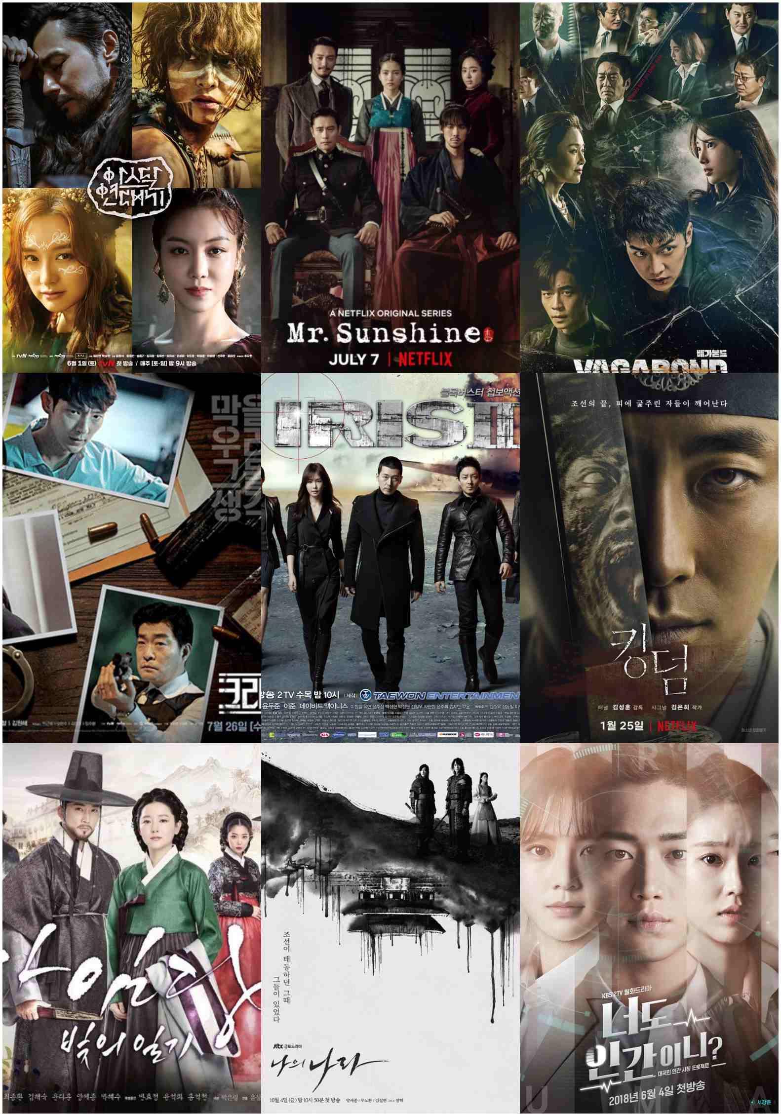 9 Drama Korea dengan Biaya Produksi Tertinggi