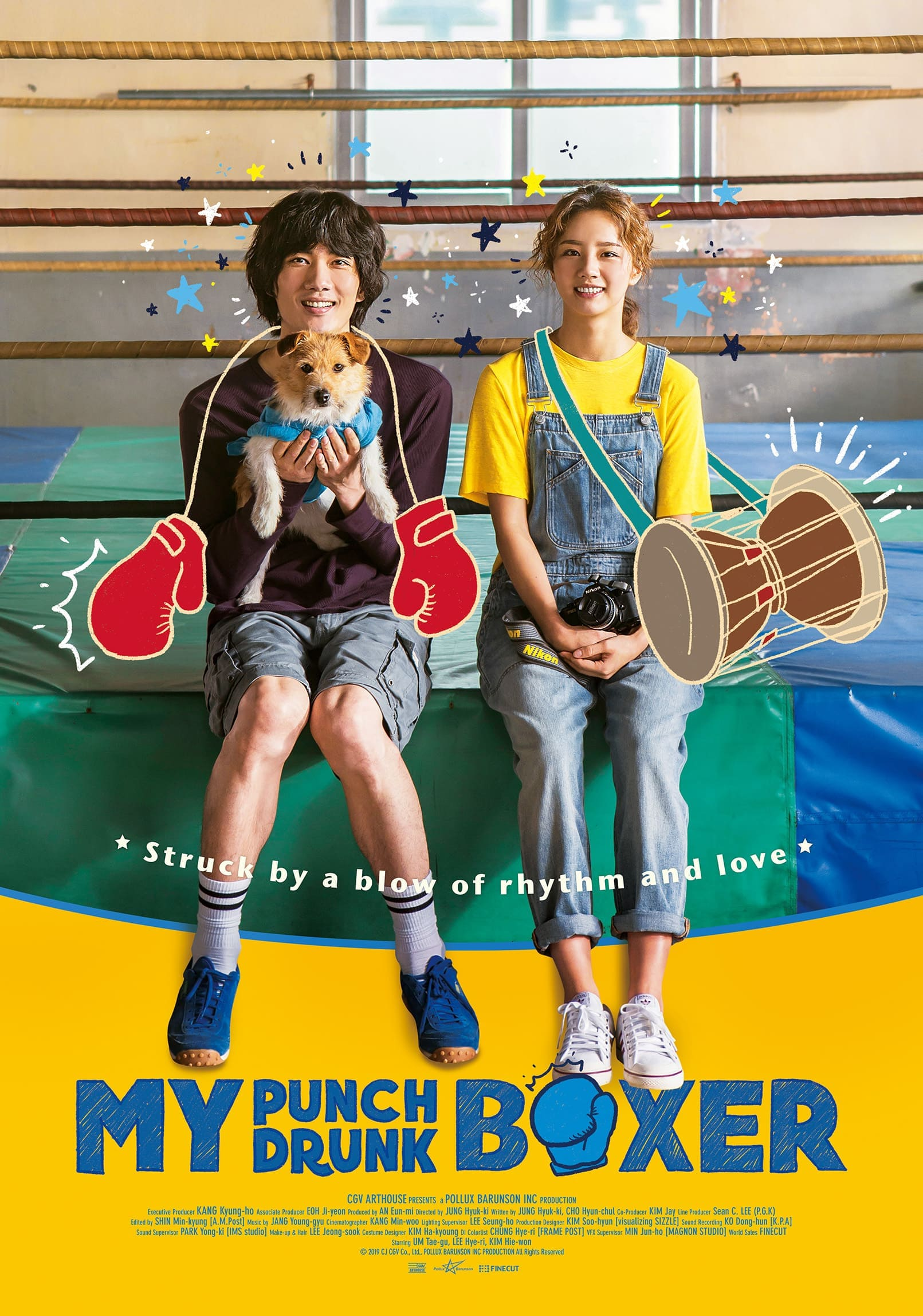 Sinopsis dan Review Film Korea My Punch-Drunk Boxer (2019)