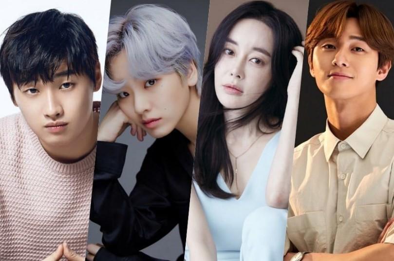 """David Lee, Lee Joo Young, Dan Kim Hye Eun Konfirmasi  Bergabung dengan Park Seo Joon Di Drama Baru """"Itaewon Class"""""""