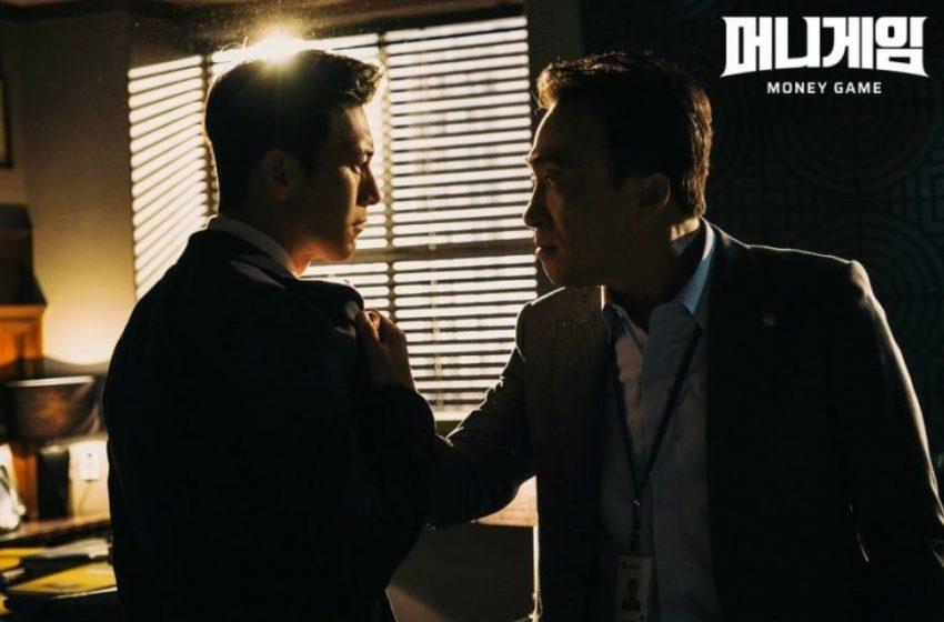 """Lee Sung Min Mencengkram Kerah Go Soo Di Tengah Ketegangan yang Meningkat Dalam Drama """"Money Game"""""""