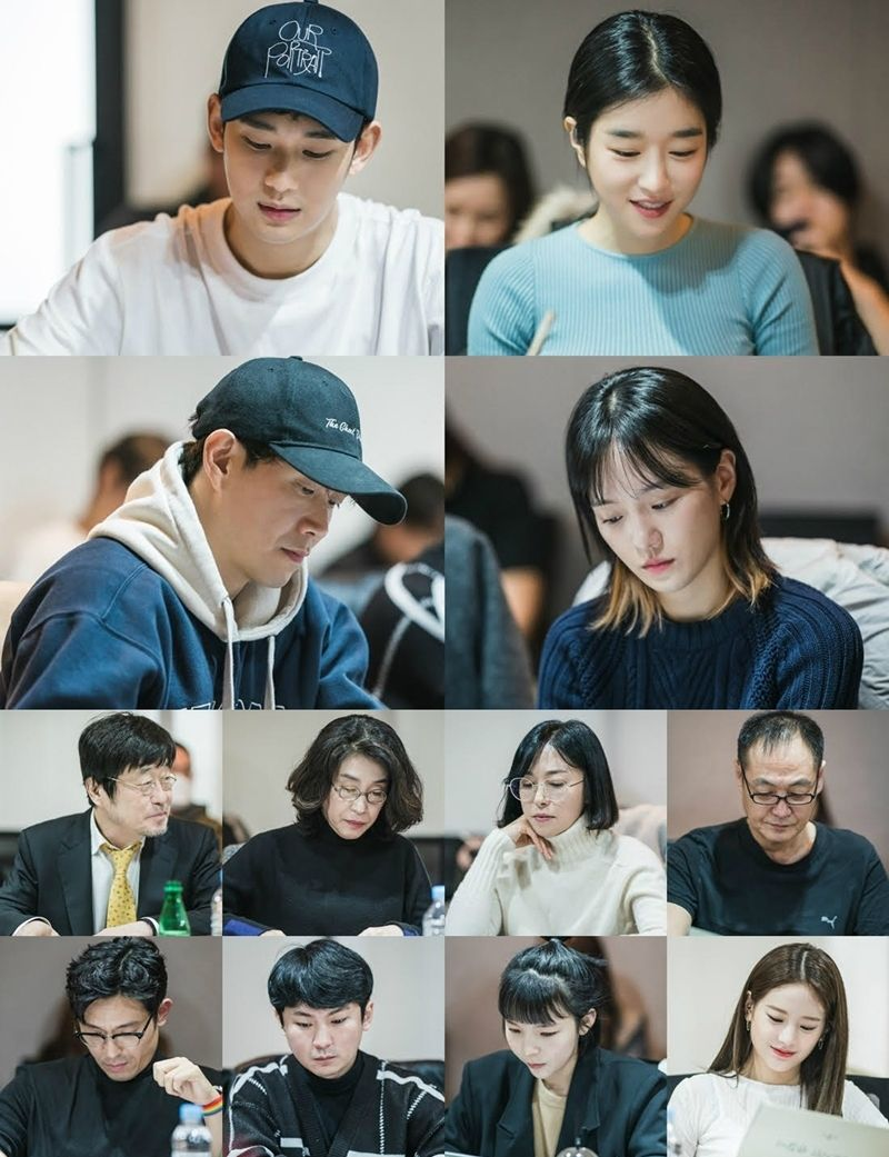 """Kim Soo Hyun dan Seo Ye Ji Hadiri Pembacaan Naskah Perdana Drama Romance tvN """"Psycho But It's Okay"""""""