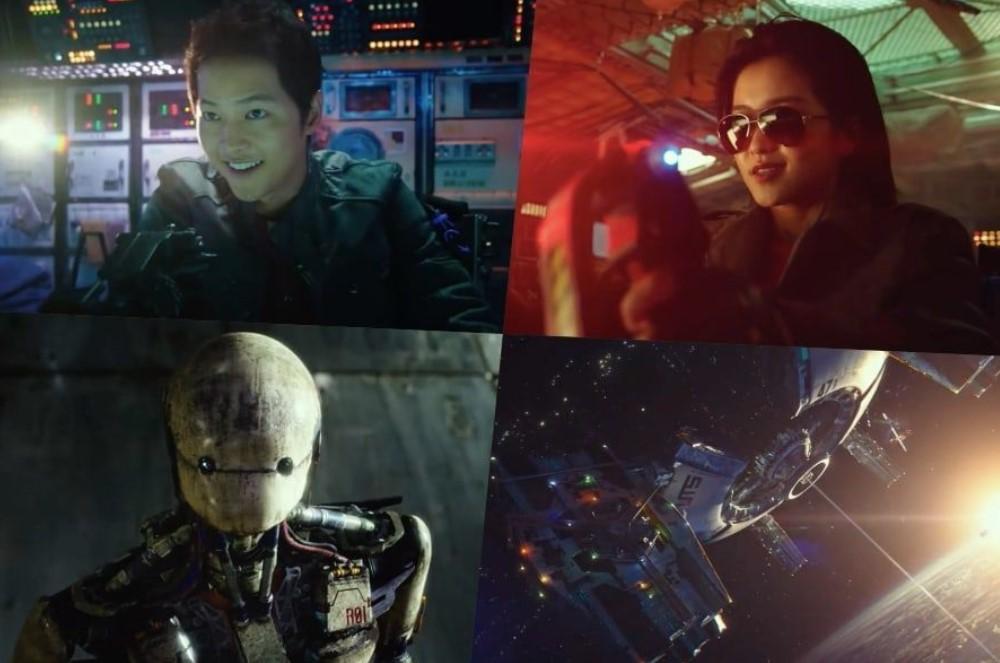 """Song Joong Ki dan Kim Tae Ri Jadi Petualang Luar Angkasa dalam Trailer Film Sci-Fi Blockbuster """"Space Sweepers"""""""