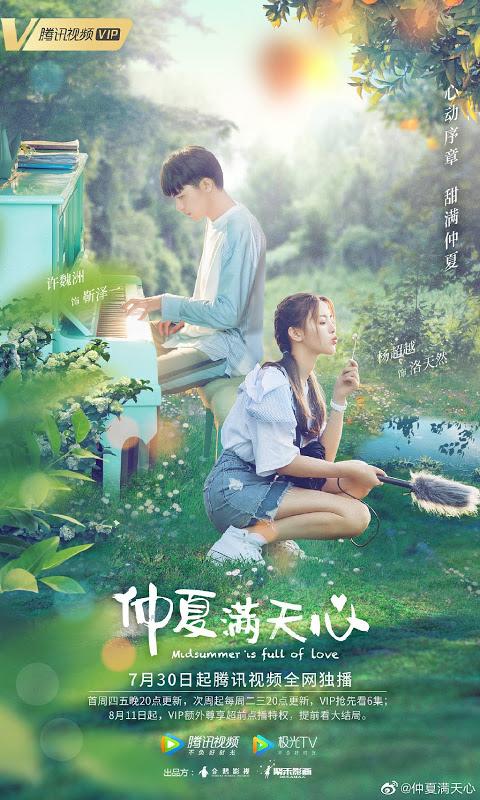 Midsummer is Full of Hearts : Sinopsis dan Review Drama China (2020)